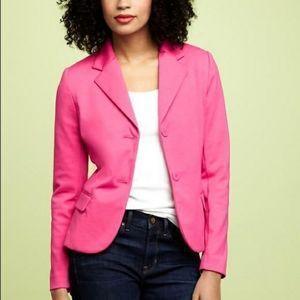 🎀NWT🎀 Gap Pink Stretch Knit Blazer